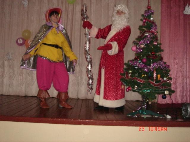 Детский праздник с клоунами.Дед Мороз.