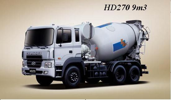 Продаётся миксер Hyundai HD 270 2012 год