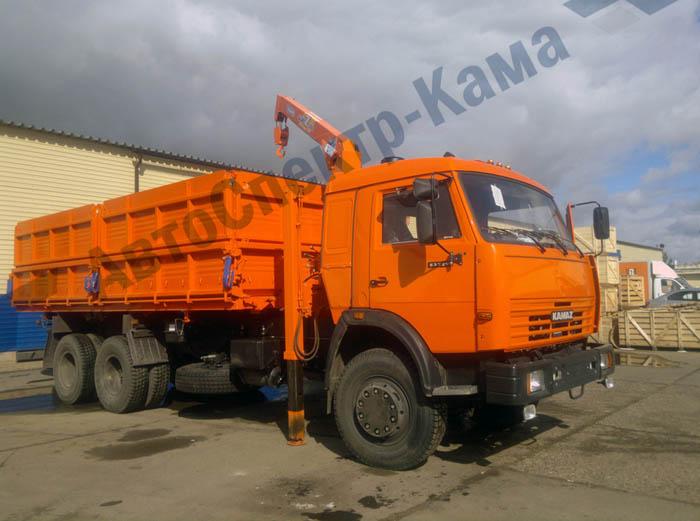 Продается КамАЗ 45144 с КМУ