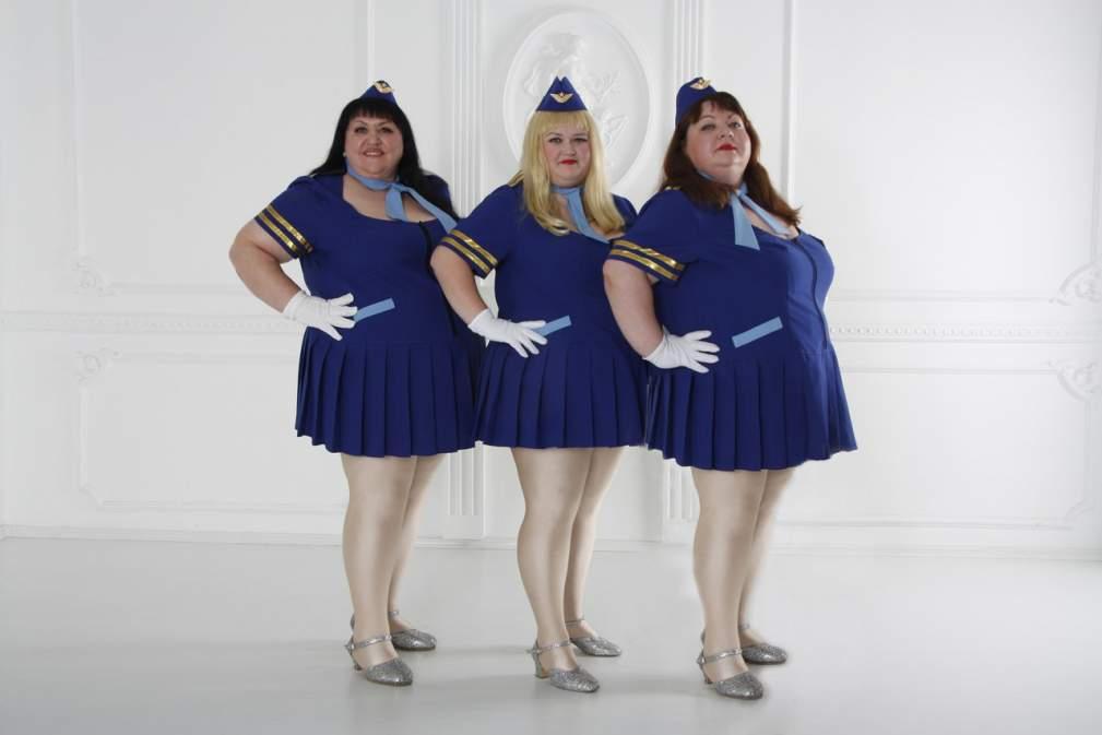 фото пилотки толстушек