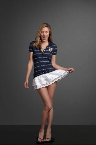Женская коллекция американской одежды в стиле sport-casual Abercrombie&Fitch
