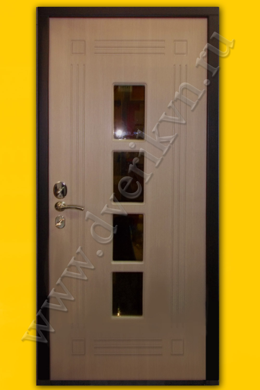 входные металлические двери в квартиру со стеклом