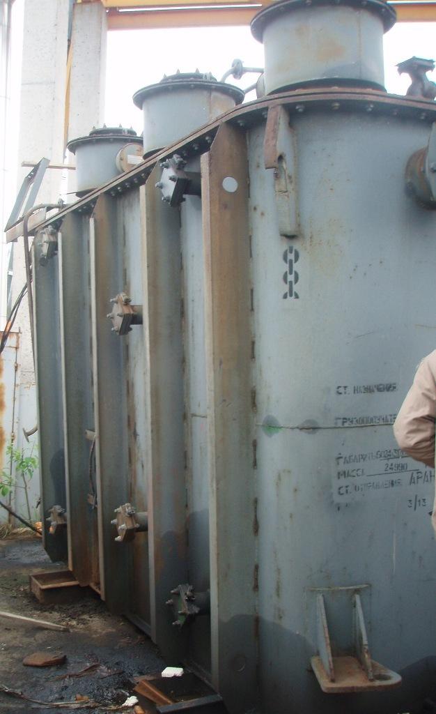 Трансформатор с хранения ТМН-6300/110/10 кВА, б/у, с ревизией, без ревизии.