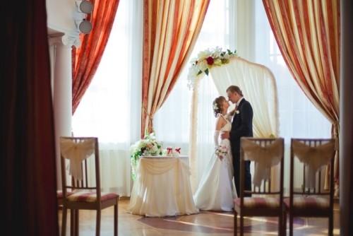 Небольшая Европейская свадьба в Новосибирске