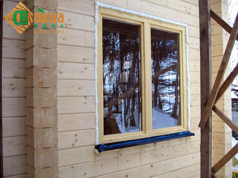 Деревянные окна со стеклопакетом ОД ОСП ГОСТ 24700-99