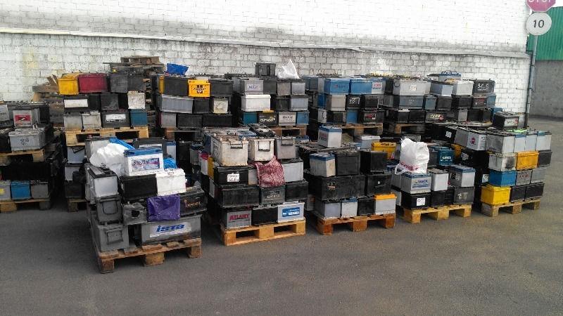 Покупаем использованные свинцовые аккумуляторы от 10 тонн.