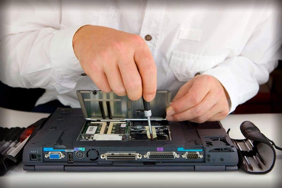 Отремонтирую сломанный ноутбук на дому