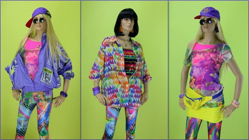 Костюмы 90х, готовые образы на вечеринку 90-х Мода 90-х Прокат
