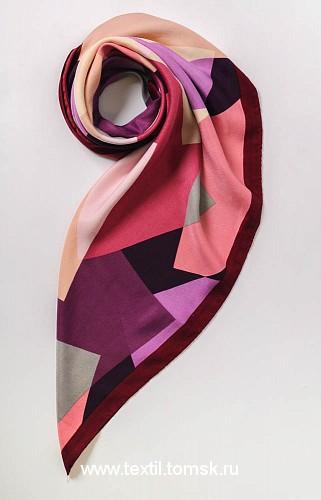 Шерстяной женский платок Виктория