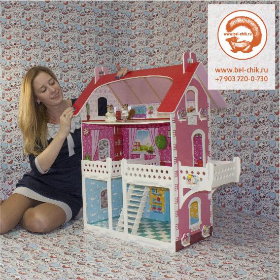Кукольный домик торговой марки БЕЛЬЧИК от производителя