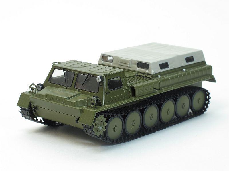 продам гусеничный вездеход ГАЗ-71 ГТС . С хранения.