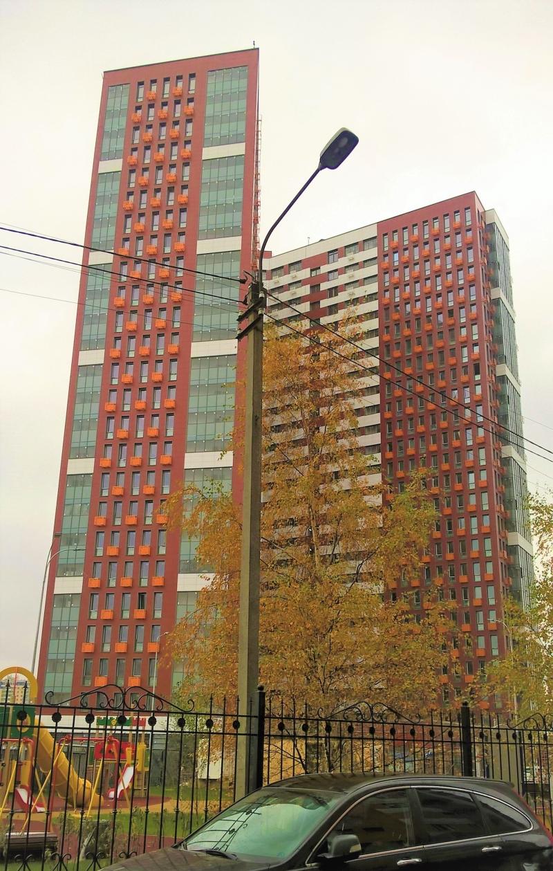Продается новая квартира 55м в Химках