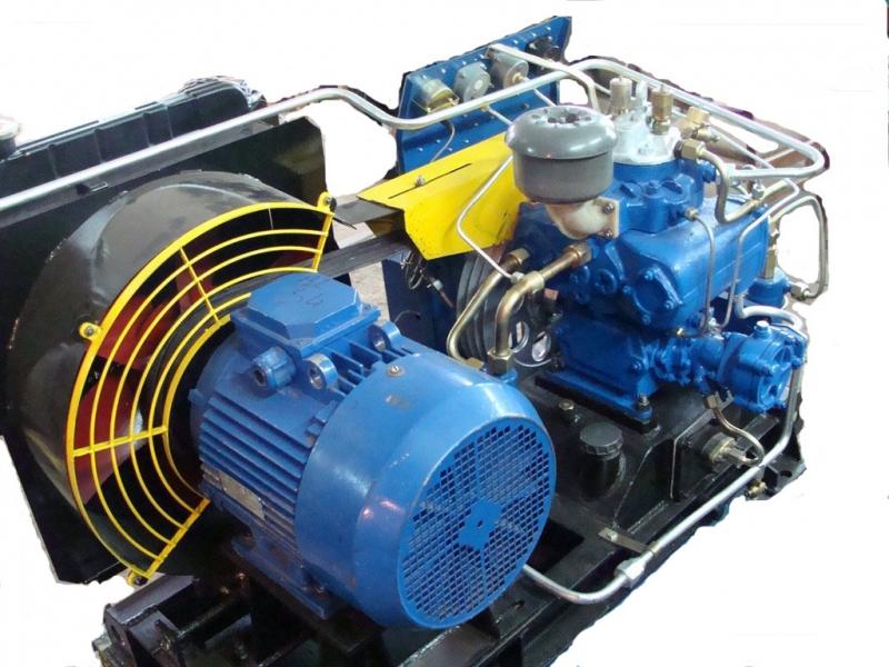 Подготовка компрессоров для УБОВ-0.3150А2