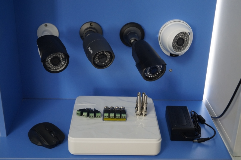 Комплект видеонаблюдения улица
