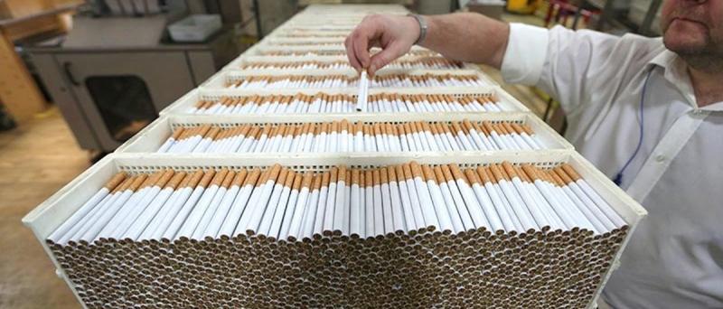 Продажа табачной продукции