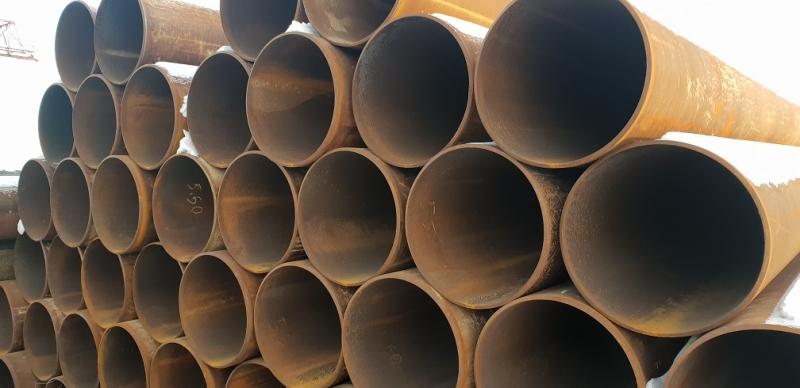 Реализуем трубы бу по низким ценам в Санкт-Петербурге.