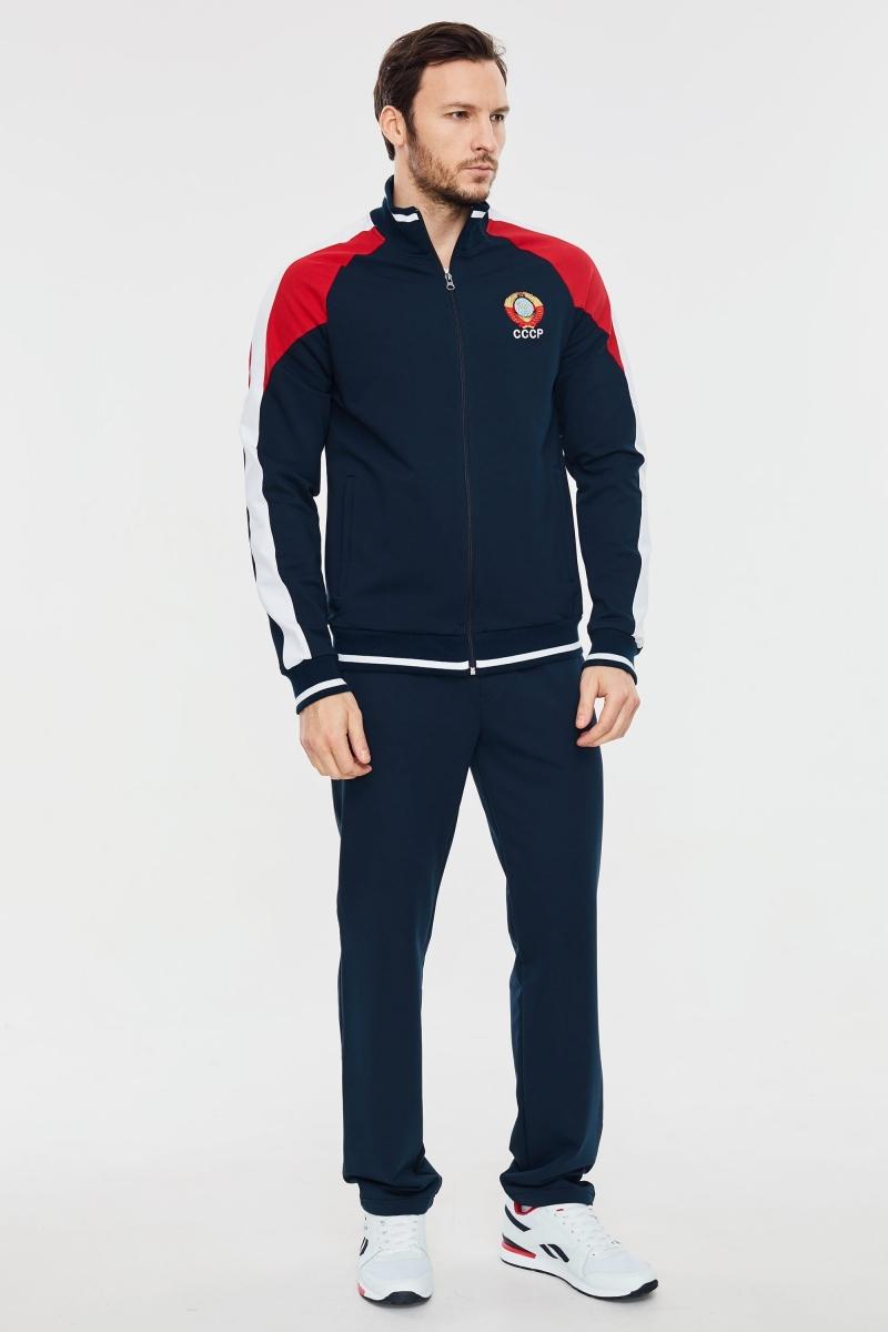 Спортивный костюм с символикой СССР  синий