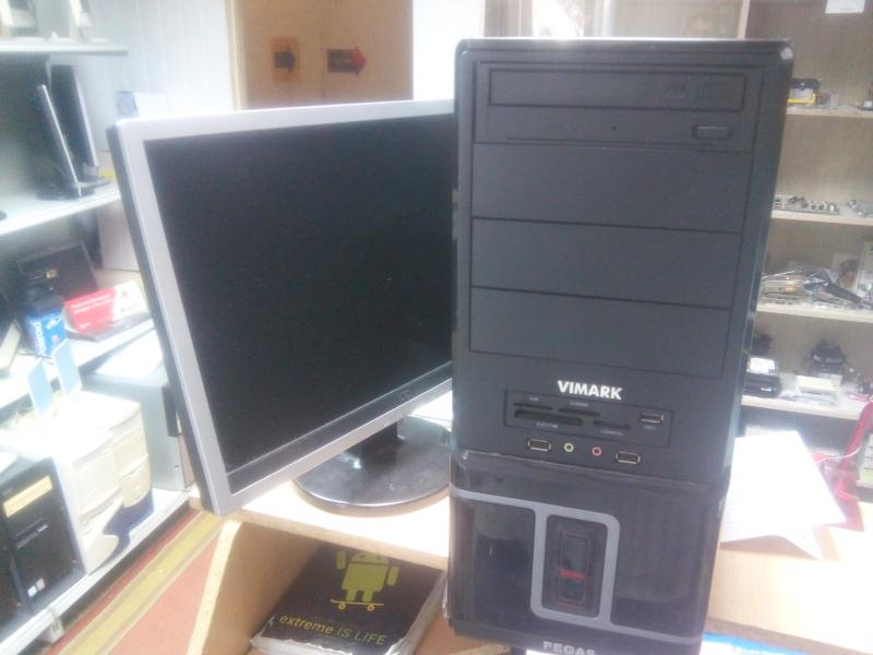 Акция, компьютеры 2 ядра 4гб с  ЖК мониторами 19 в комплекте