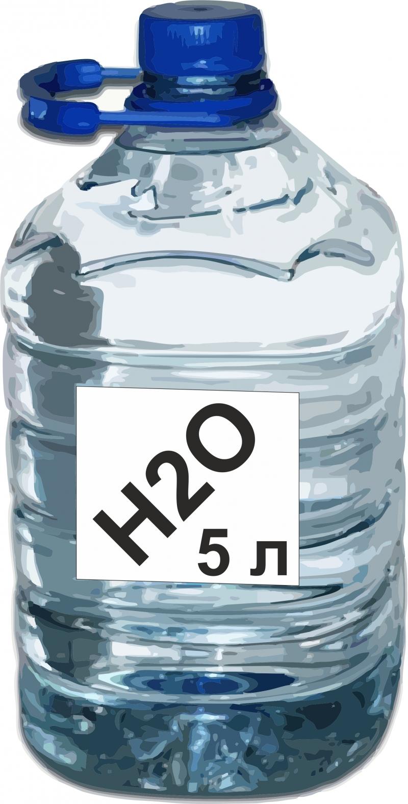 Деионизированная вода, по ГОСТ Р 52501-2005