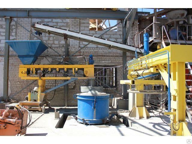 Линия для производства железобетонных фальцевых колец канализации