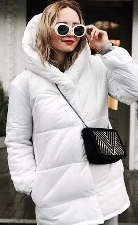 Зимняя тплая куртка Зефирка