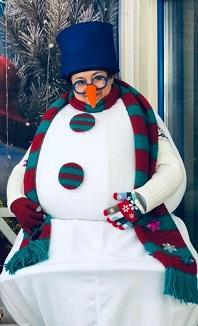 Эксклюзивный костюм Снеговика