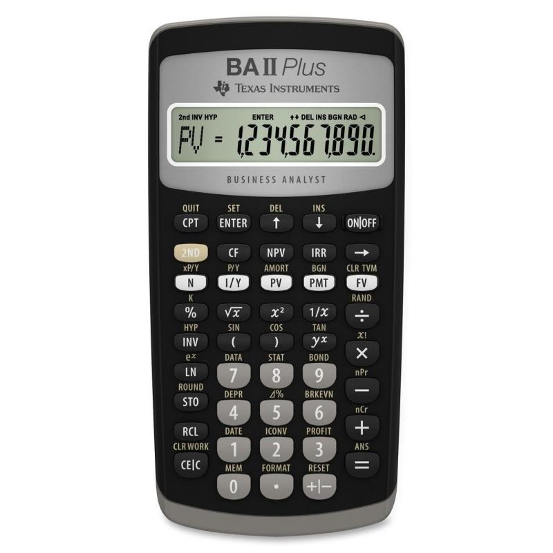 Финансовый калькулятор BA II Plus