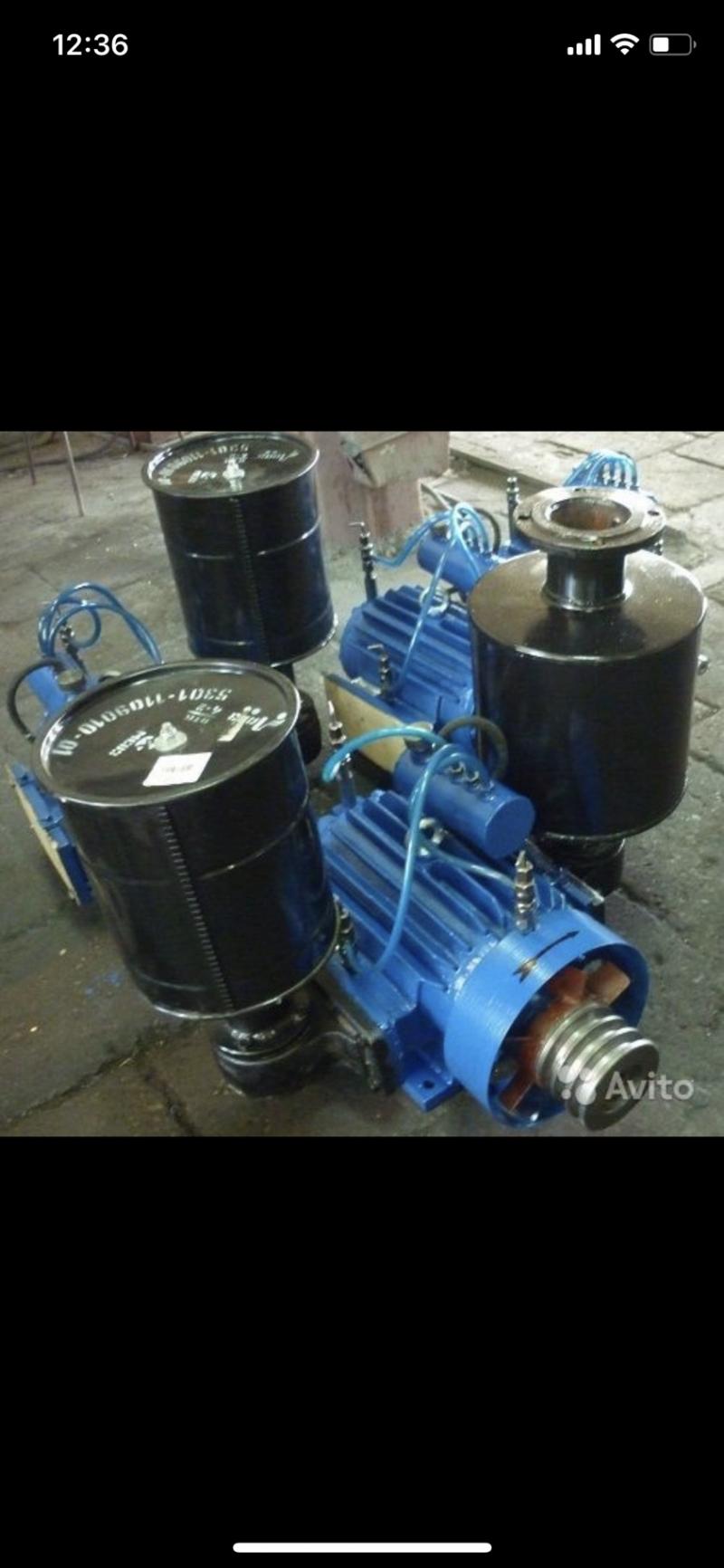 Компрессор роторный ВР-82,5