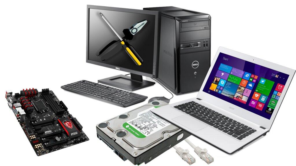 Быстрый и качественный ремонт компьютеров, ноутбуков, планшетов, смартфонов