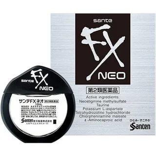 Sante FX Neo японские глазные капли